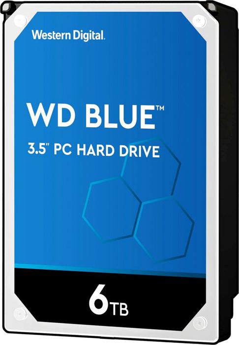Жесткий диск 6Tb SATA-III Western Digital Blue, WD60EZAZ