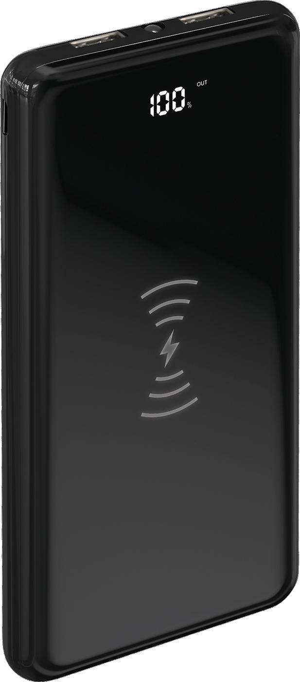Фото - Внешний аккумулятор TFN АКБ 10000mAh AirCharge black аккумулятор