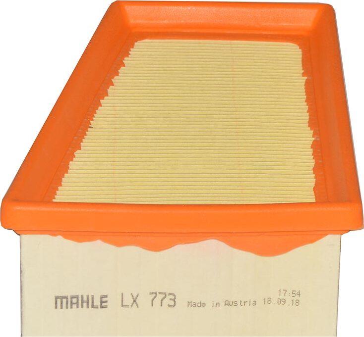 Воздушный фильтр Mahle ORIGINAL LX773 воздушный фильтр mahle original lx936