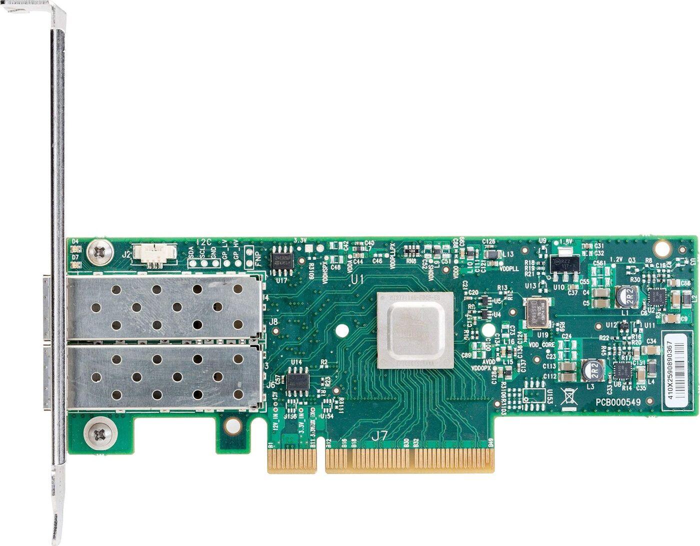 Модуль Mellanox MCX4121A-ACAT ConnectX-4 Lx EN network interface 25GbE dual-port SFP28 PCIe3.0
