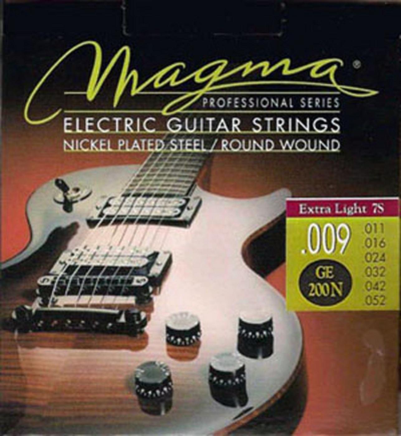 цена Комплект струн для 7-струнной электрогитары Magma GE200N онлайн в 2017 году