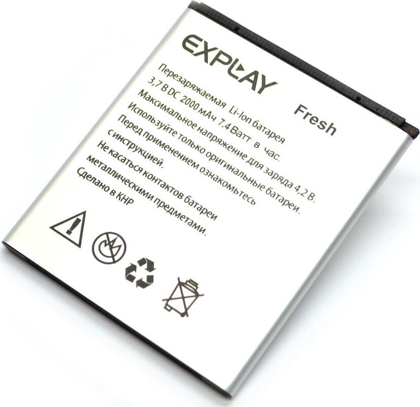 Фото - Аккумулятор Explay Fresh аккумулятор