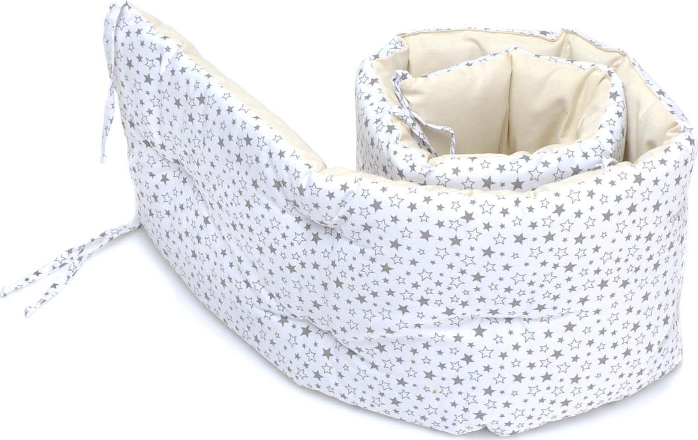 Бортик в детскую кроватку HoneyMammy 180x25 см (Universe)