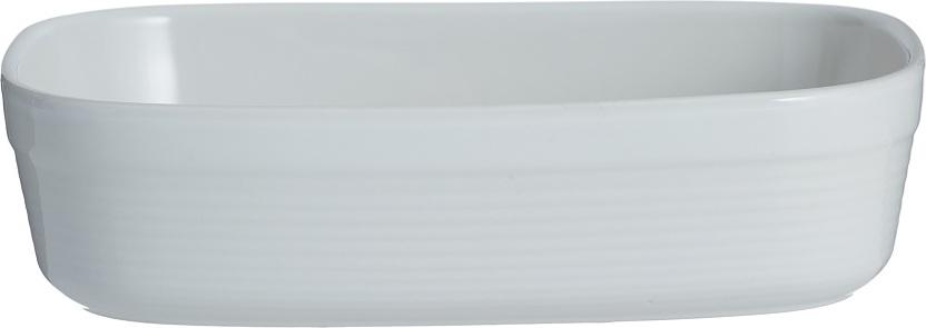 Блюдо для запекания Mason Cash William прямоугольное 24 см белое