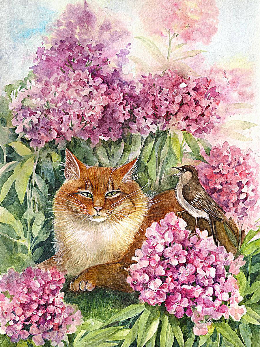 алмазная мозаика картинки коты