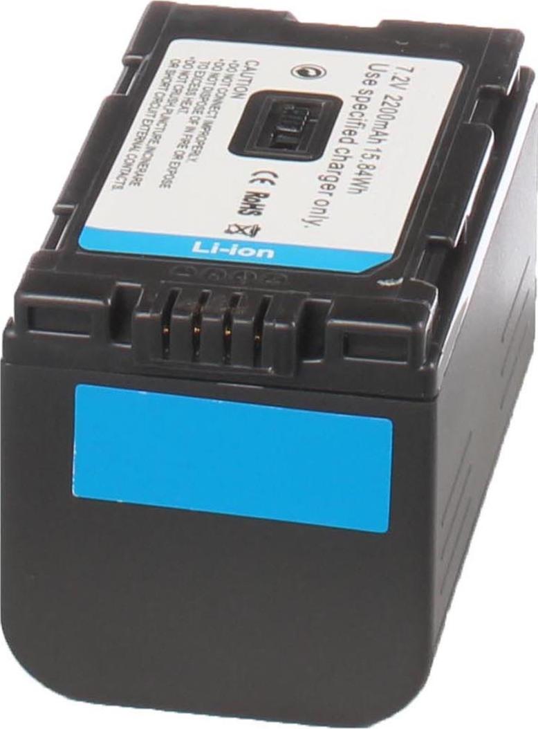 Аккумуляторная батарея iBatt iB-T1-F315 2200mAh для камер Hitachi DZ-MV208E, DZ-MV270, DZ-MV100, DZ-MV200E,  для Panasonic NV-GS15, NV-GX7, AG-DVX100BE, NV-DS60, NV-DS65, AG-HVX200, NV-MX500, AG-DVC30E, NV-DS30, NV-GS5, NV-MD9000, NV-DS28, NV-MX500EN,