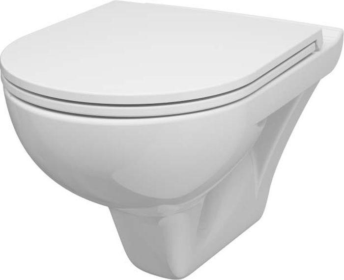 Унитаз подвесной AM.PM Gem, с сиденьем микролифт, C901738SC, белый, 60 х 45 х 40 см