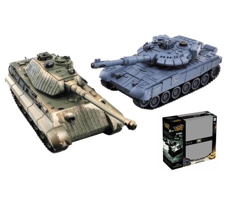 """Радиоуправляемый танковый бой Huan Qi HQ555 """"ZeGan"""", Танковый бой 2.4G, масштаб 1:32"""