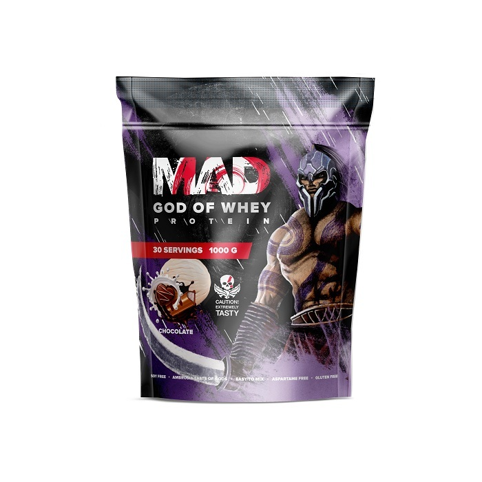 MAD GOD OF WHEY (ПАКЕТ) 1000 Г ШОКОЛАД