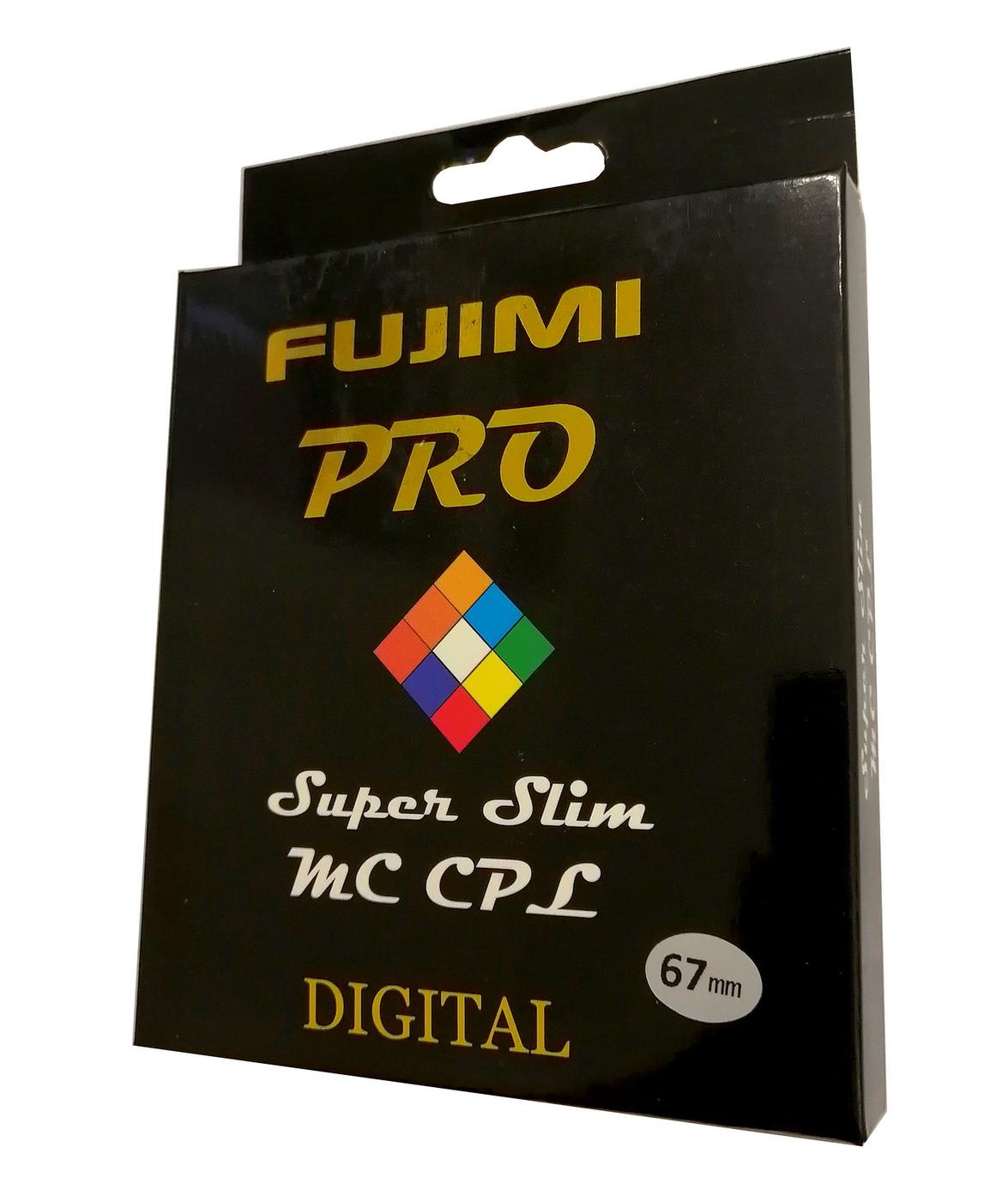 Светофильтр Fujimi PRO Super slim MC CPL 67мм