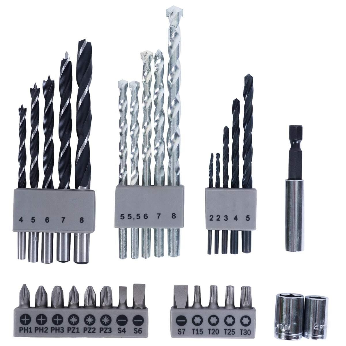 Набор оснастки 34 шт. Bosch X-Line 2607010608