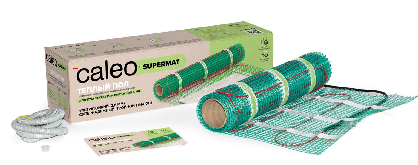 Нагревательный мат Caleo Supermat 200-0,5-2,4, 200 Вт/м2, 2,4 м2