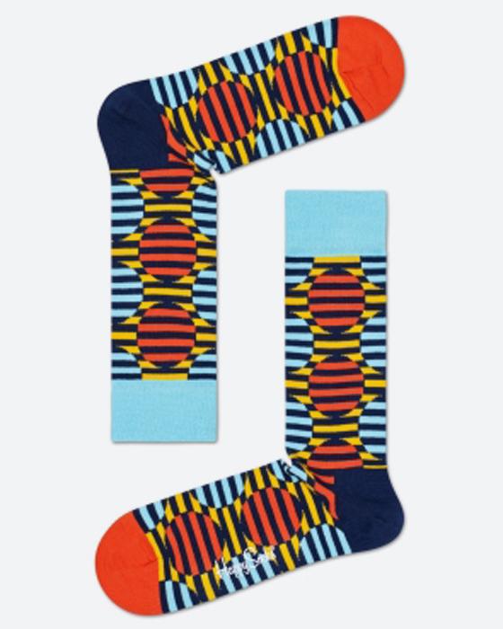 Embroidered socks Flamingo Socks Orange Socks