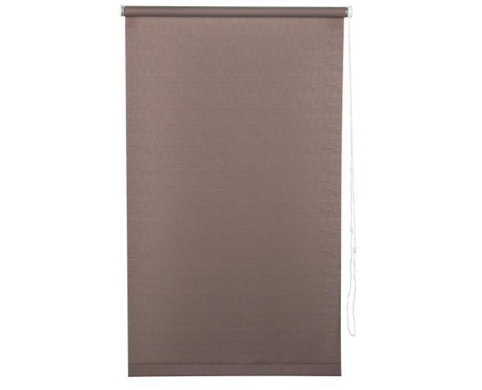 Штора рулонная, 40х160 см, цвет коричневый-20469