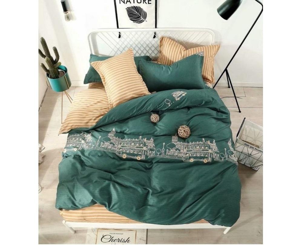 Комплект постельного белья Сонька-Дремка МД-22-п 1,5 спальный, Сатин, наволочки 50x70