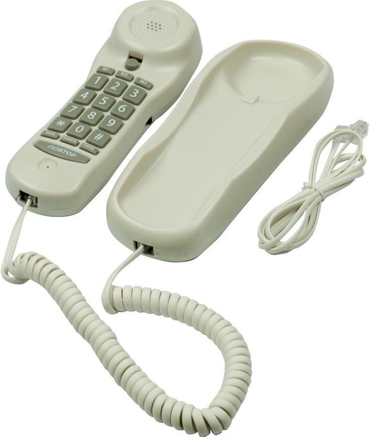 телефон ritmix rt-003, белый