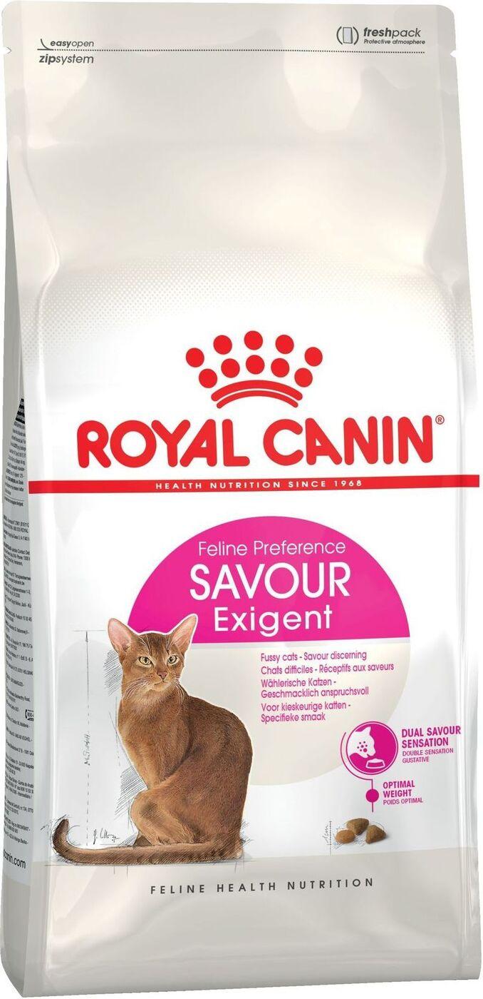 """Корм сухой Royal Canin """"Exigent 35/30 Savoir Sensation"""" для кошек, привередливых к вкусу продукта, 2 кг"""