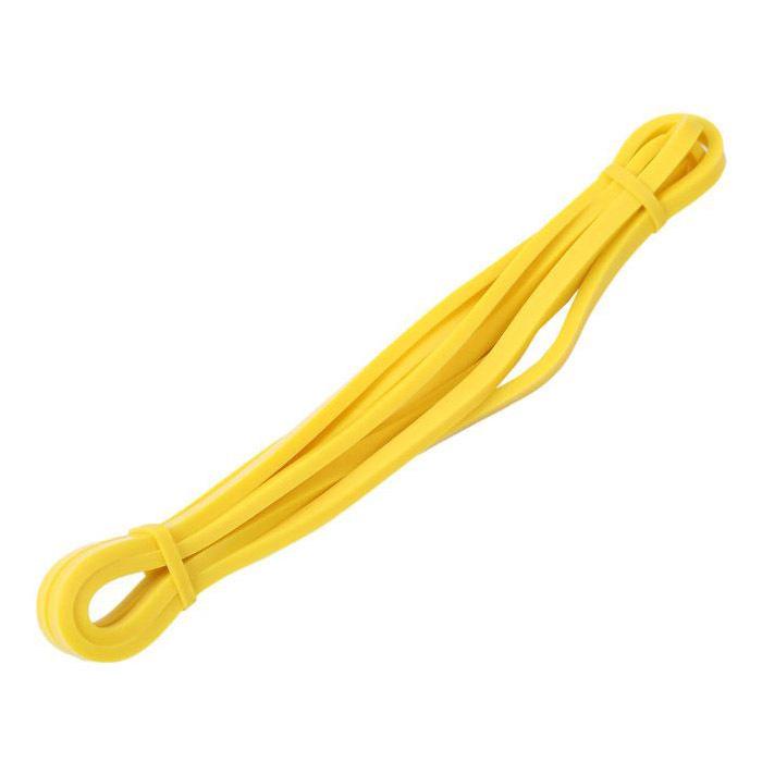 Резиновые петли для тренировок (Желтая 3-6 кг)