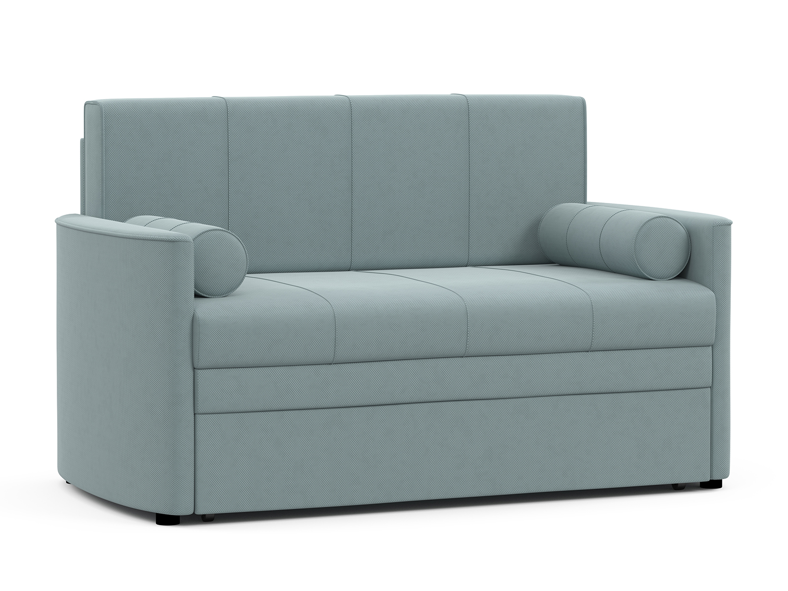 """Диван-кровать Мелани Р (120) Диван - кровать Арт. ТД 369 (Макс 900"""" (светло - серый)) , механизм Выкатной, 145х80х84 см"""