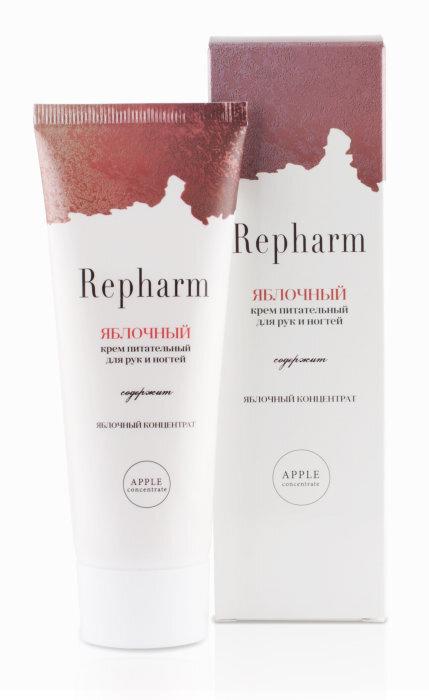 Крем питательный для рук и ногтей Repharm Яблочный 70 мл #1