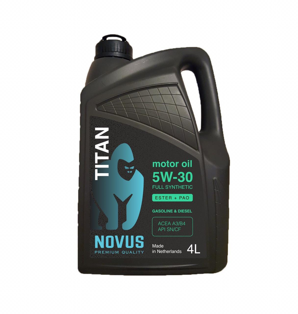 Моторное масло NOVUS TITAN 5W-30 4L #1