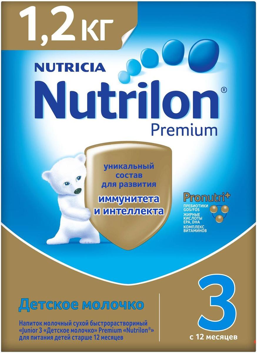 Детское молочко Nutrilon Premium 3, 1200 г #1