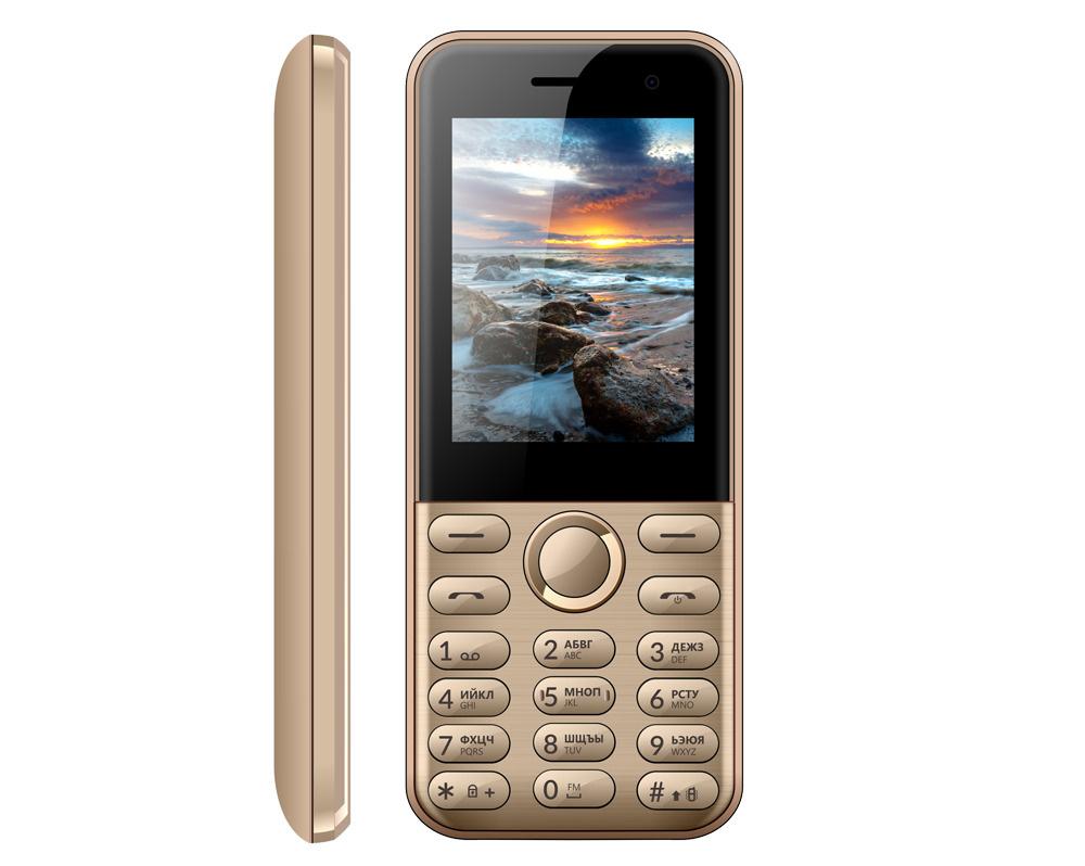 Мобильный телефон Vertex D567, золотой #1