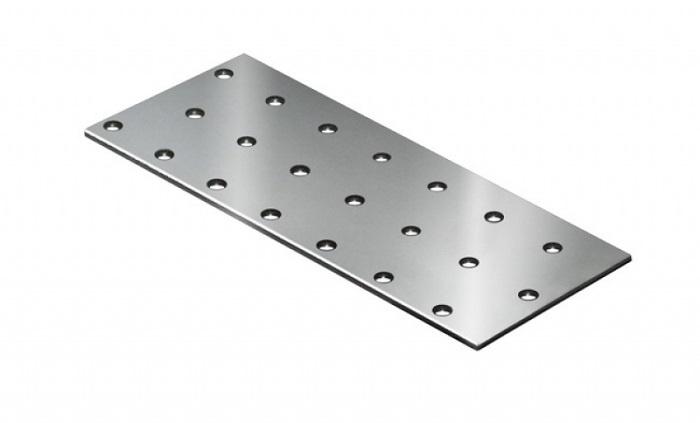 Пластина перфорированная крепежная STARFIX 240 мм x 60 мм 2 шт.  #1