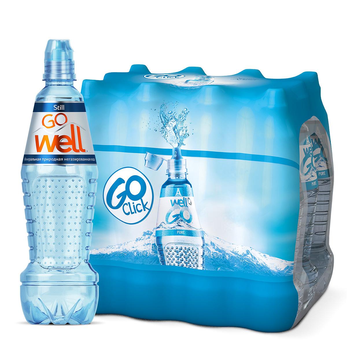 Вода минеральная столовая природная негазированная пэт, 12 шт. по 0,68 л  #1