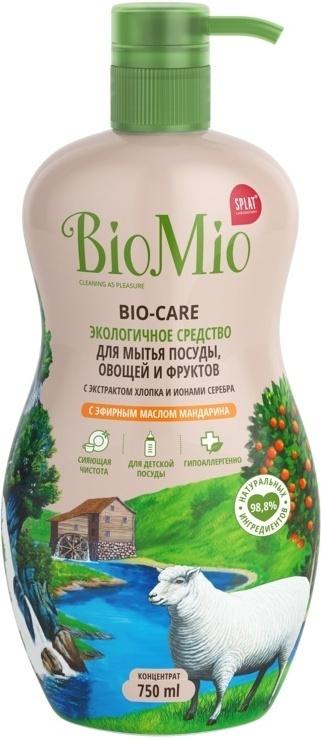 BIOMIO Экологичное средство для мытья посуды, овощей и фруктов BIO-CARE, антибактериальное, с эфирным #1