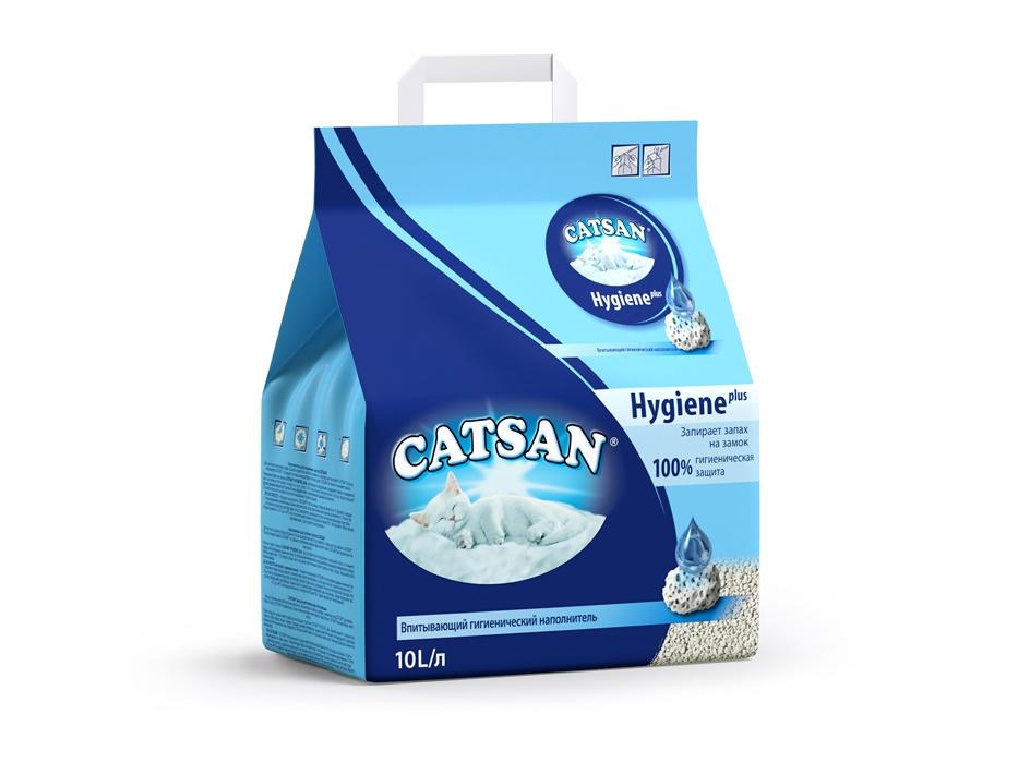 Catsan наполнитель для кошек минеральный впитывающий гигиенический 10 л  #1