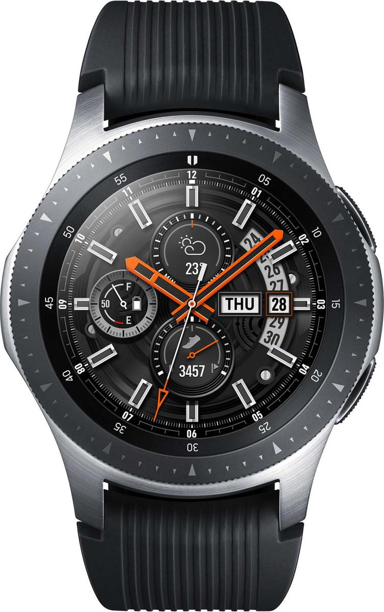 Умные часы Samsung Умные часы Samsung Galaxy Watch SM-R800NZSASER, серебристый  #1