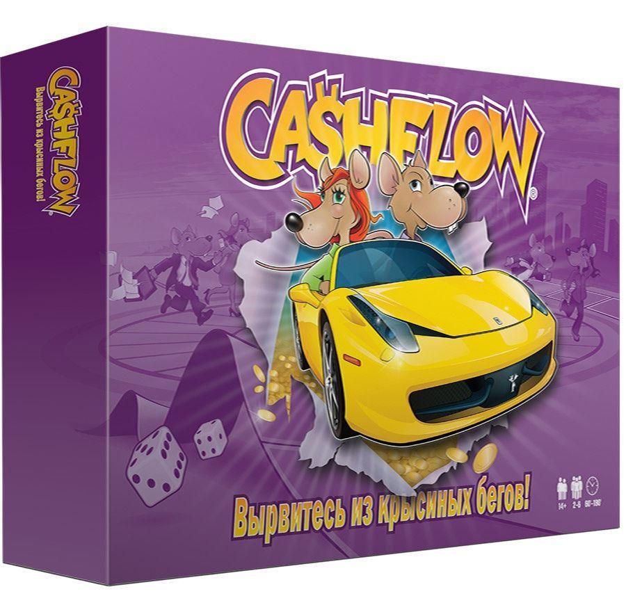 Настольная игра CashFlow (Денежный поток) для взрослых #1