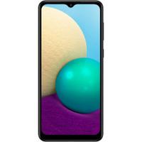 Смартфон Samsung Galaxy A02 32 ГБ чёрный 2/32GB, черный. Хиты продаж