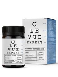 Витамины для глаз с экстрактом черники, лютеином и бета-каротином, для улучшения зрения, Hendel, Clevue expert, 30 гр. . БАДы