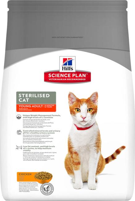 Hill's корм для кошек стерилизованных