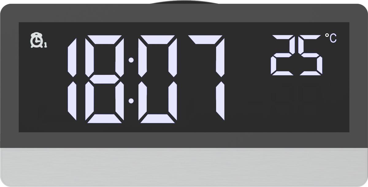 лучшая цена Радио-будильник Ritmix RRC-1870T, серебристый