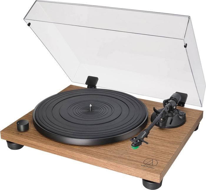лучшая цена Проигрыватель виниловых дисков Audio-Technica AT-LPW40WN, 80000265, коричневый