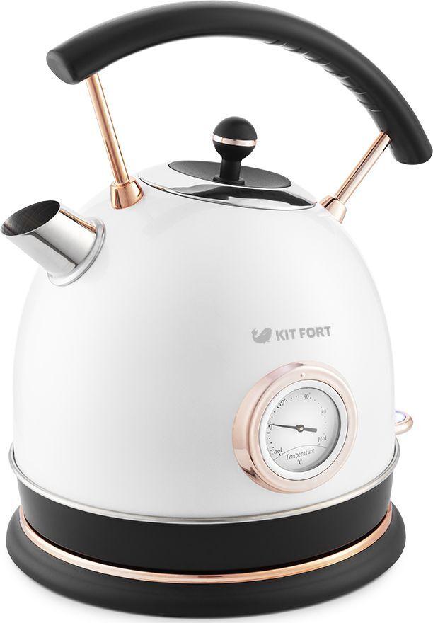 Электрический чайник Kitfort КТ-664-1, белый