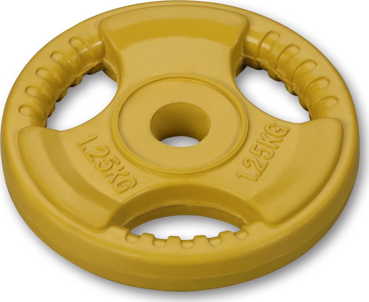 Диски Indigo с хватом, IN136, желтый, 26 мм, 1,25 кг