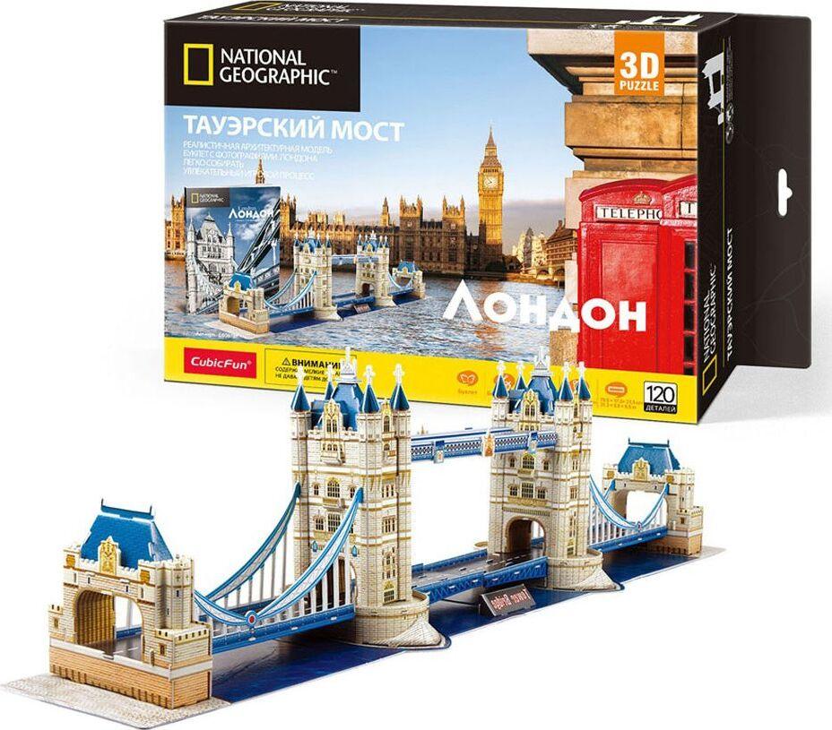 цена на 3D пазл CubicFun Тауэрский мост, Великобритания