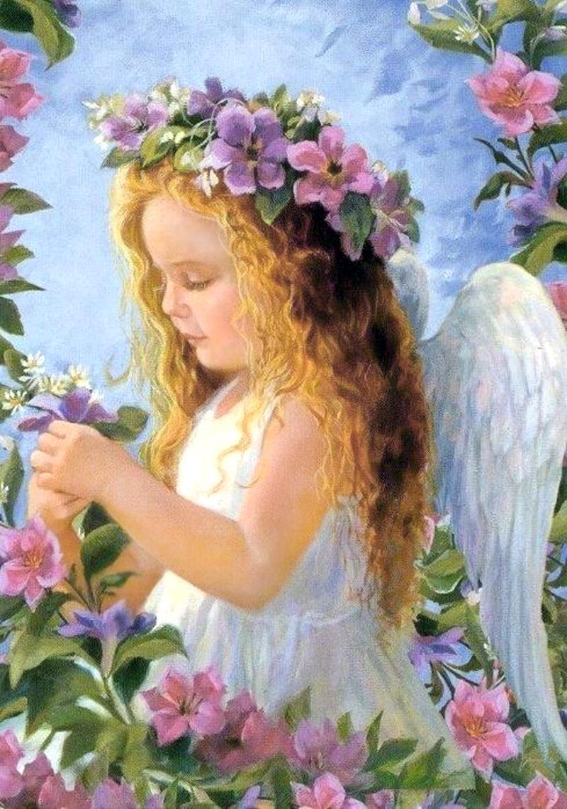 картинки с ангелочками красивые слева
