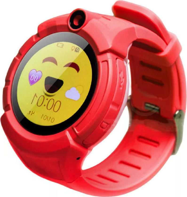 Детские GPS часы Nuobi Q360, Красный