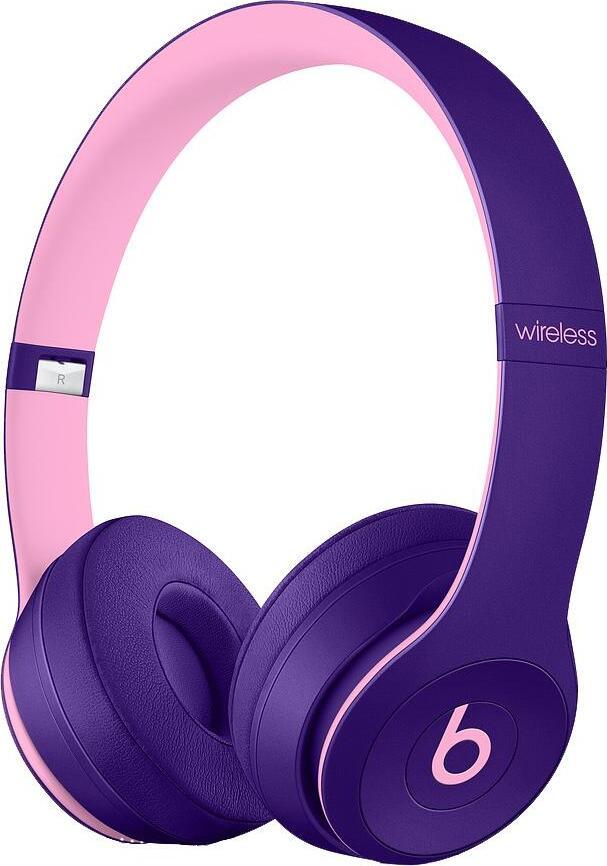 цена на Беспроводные накладные Beats Solo3 Wireless On-Ear Headphones - Beats Pop Collection - Pop Violet