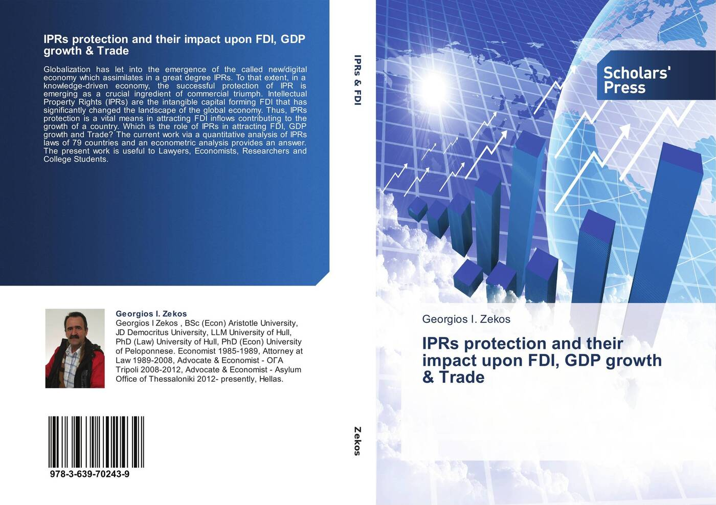 Фото - Georgios I. Zekos IPRs protection and their impact upon FDI, GDP growth & Trade greg linsdell the emergence growth and implications of private policing in victoria