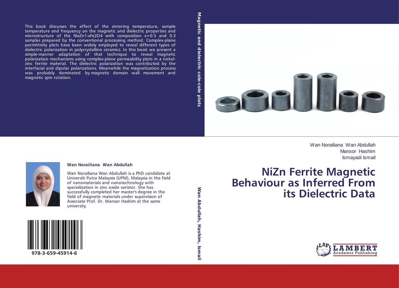 Wan Norailiana Wan Abdullah,Mansor Hashim and Ismayadi Ismail NiZn Ferrite Magnetic Behaviour as Inferred From its Dielectric Data magnetic and dielectric properties of materials
