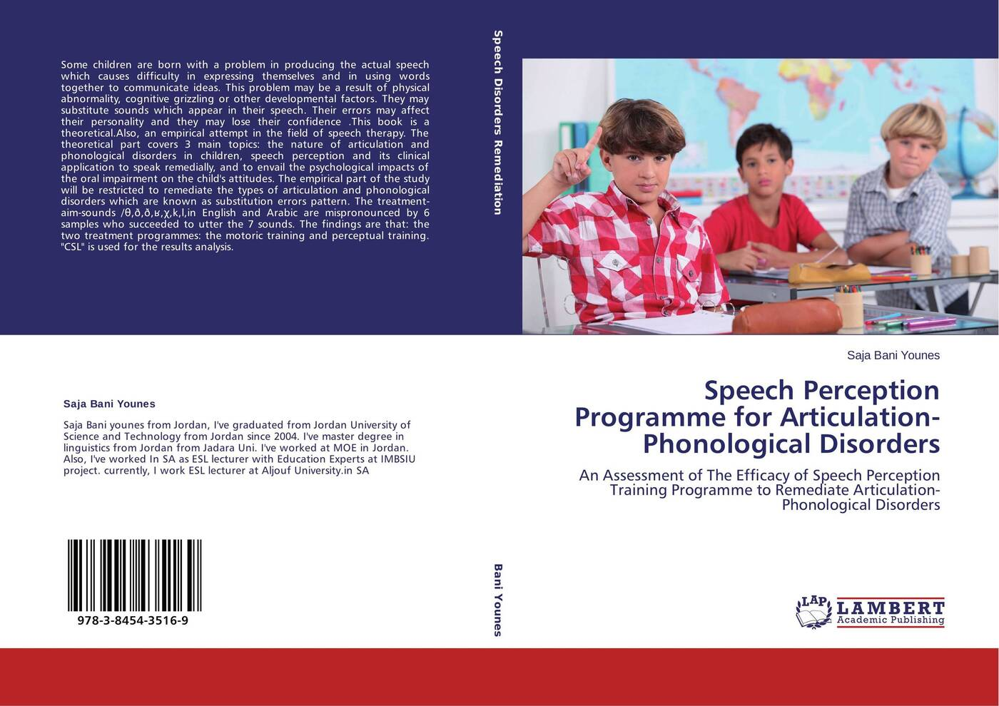 Saja Bani Younes Speech Perception Programme for Articulation-Phonological Disorders