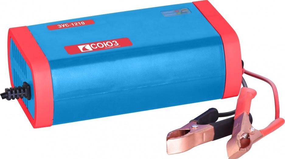 Инверторное зарядное устройство СОЮЗ ЗУС-1210 зарядное устройство technoking азу 75 для аккумуляторов 6 12в 10а