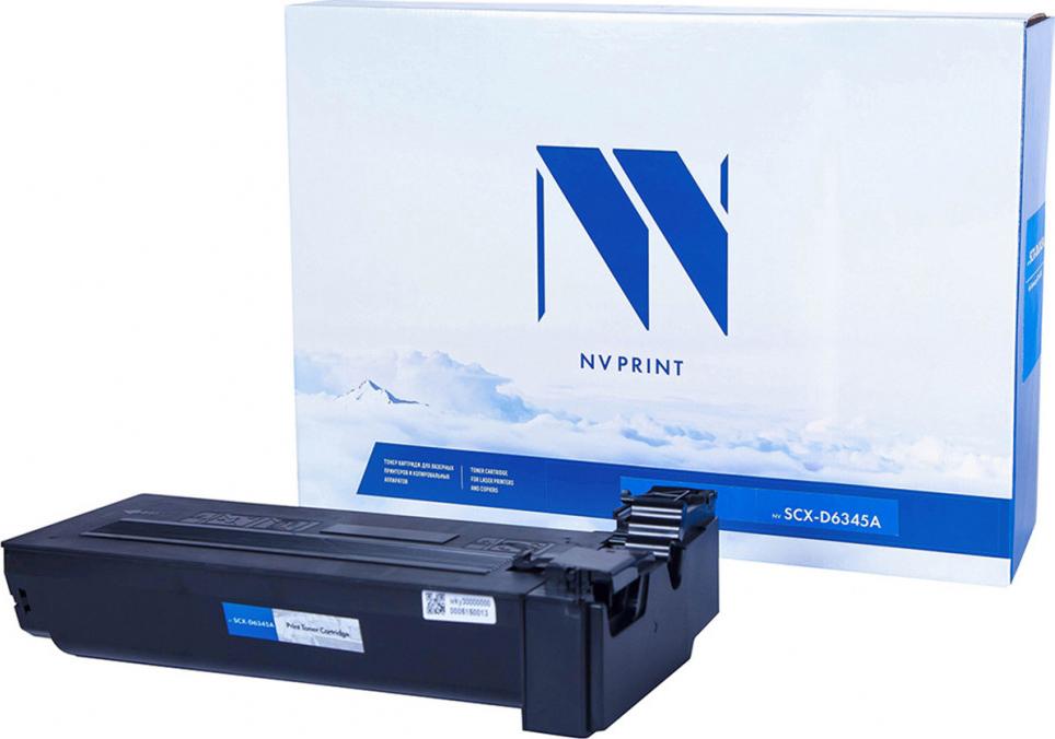 Тонер-картридж NV Print SCX-6345, черный, для лазерного принтера