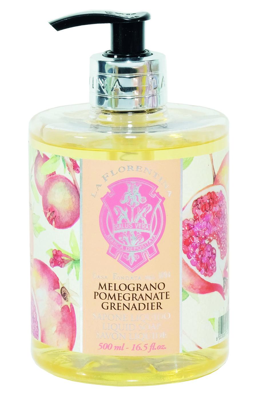 La FlorentinaЖидкое мыло Pomegranate / Гранат 500 ml Коллекция: ГРАНАТ / BELLOSGUARDO COLLECTIONС...